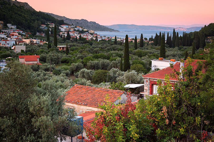 Greek Village  Photograph