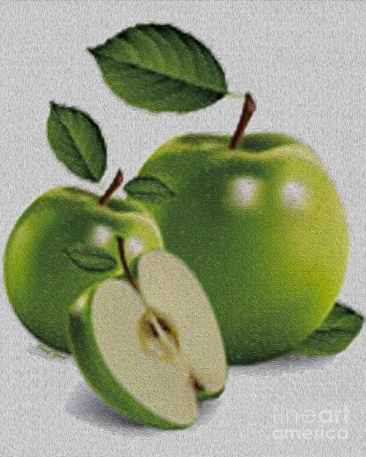 Green Apples Photograph