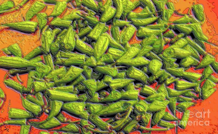 Green Bean Tiips Digital Art