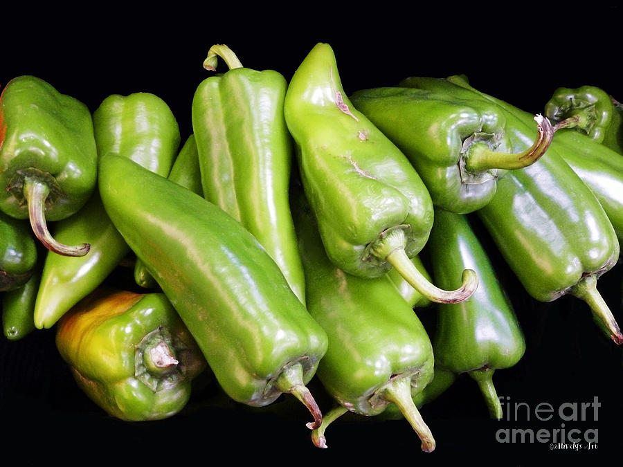 Green Chilies Photograph