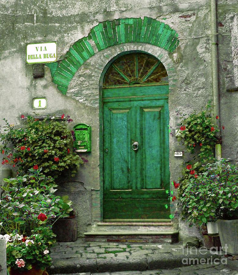 Green Door Photograph