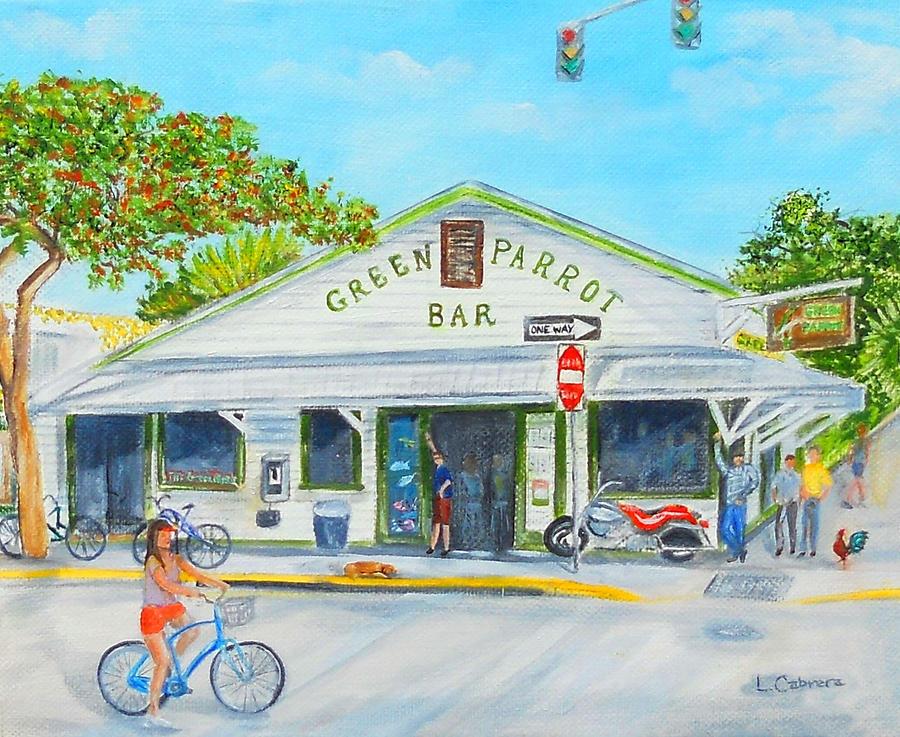 Green Parrot Bar Key West Florida