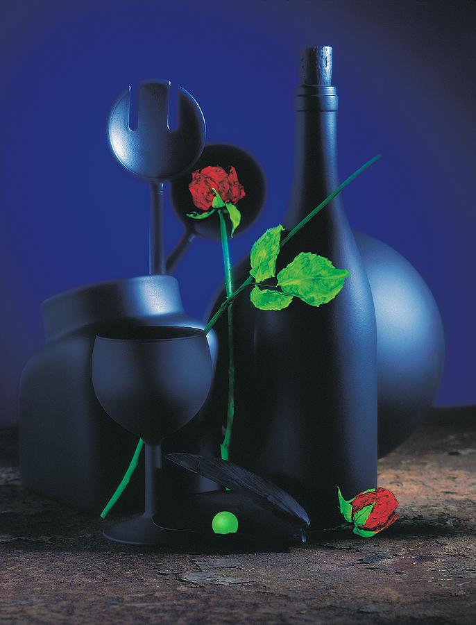 Art Pyrography - Green Pearl  by Mauro Celotti