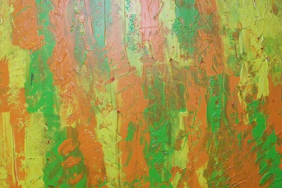 abstract yellow green drawing - photo #7