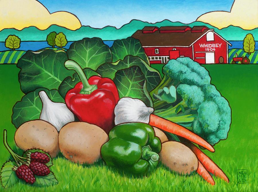 Greenbank Bounty Painting
