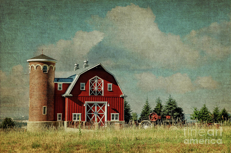 Greenbluff Barn Photograph