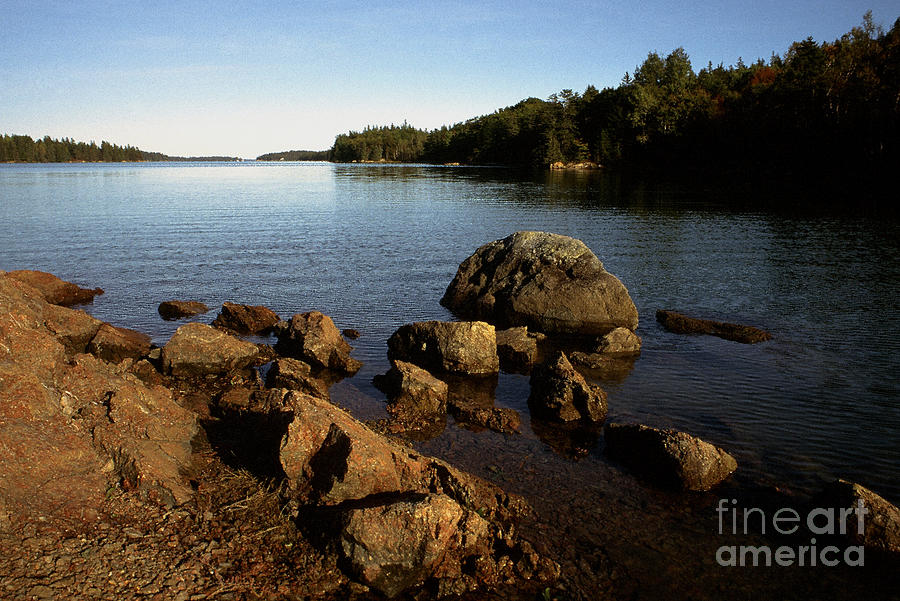 Greenlaw Cove Deer Isle Maine Photograph