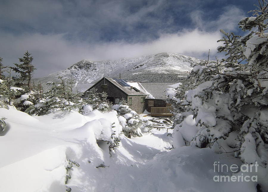 Greenleaf Hut - White Mountians Nh Photograph  - Greenleaf Hut - White Mountians Nh Fine Art Print