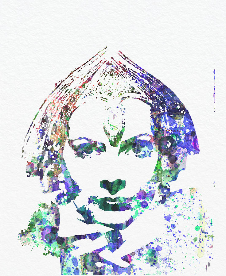 Greta Garbo Digital Art