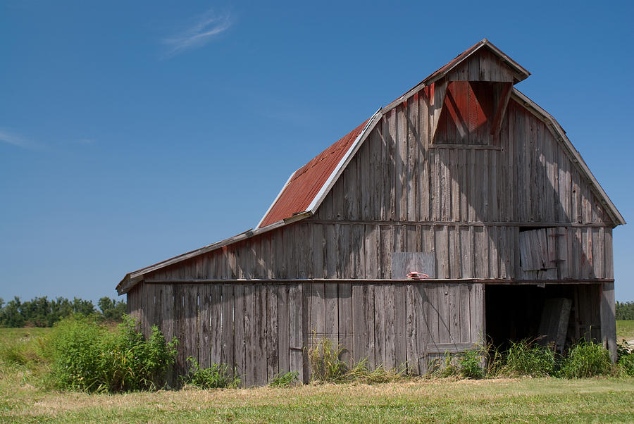 Grey Barn Photograph