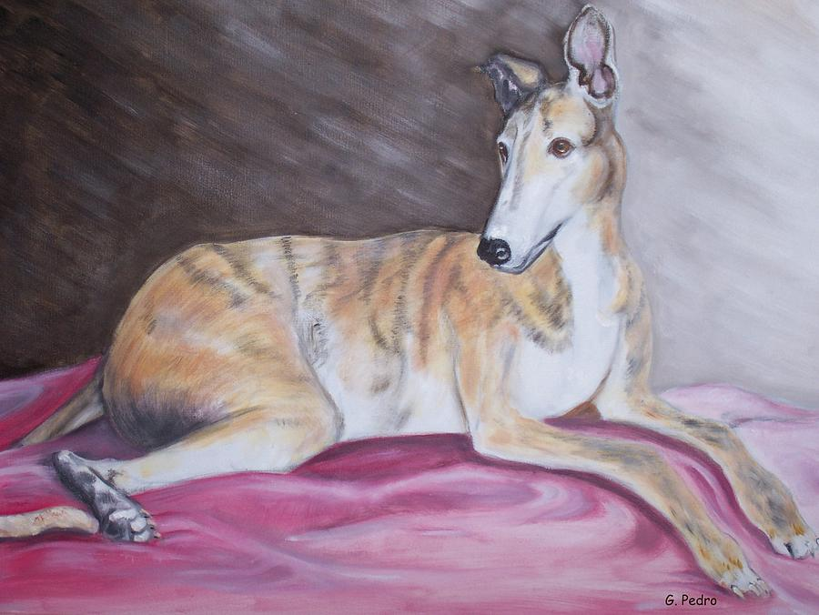 Greyhound Number 2 Painting