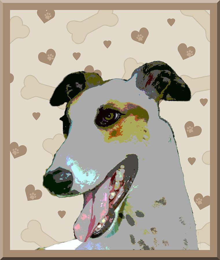 Greyhound Photograph - Greyhound by One Rude Dawg Orcutt