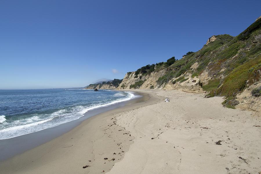 Greyhound Rock State Beach Panorama - Santa Cruz - California Photograph