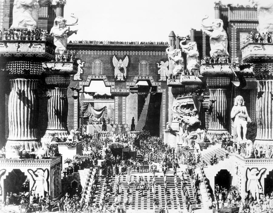 Griffith: Intolerance 1916 Photograph