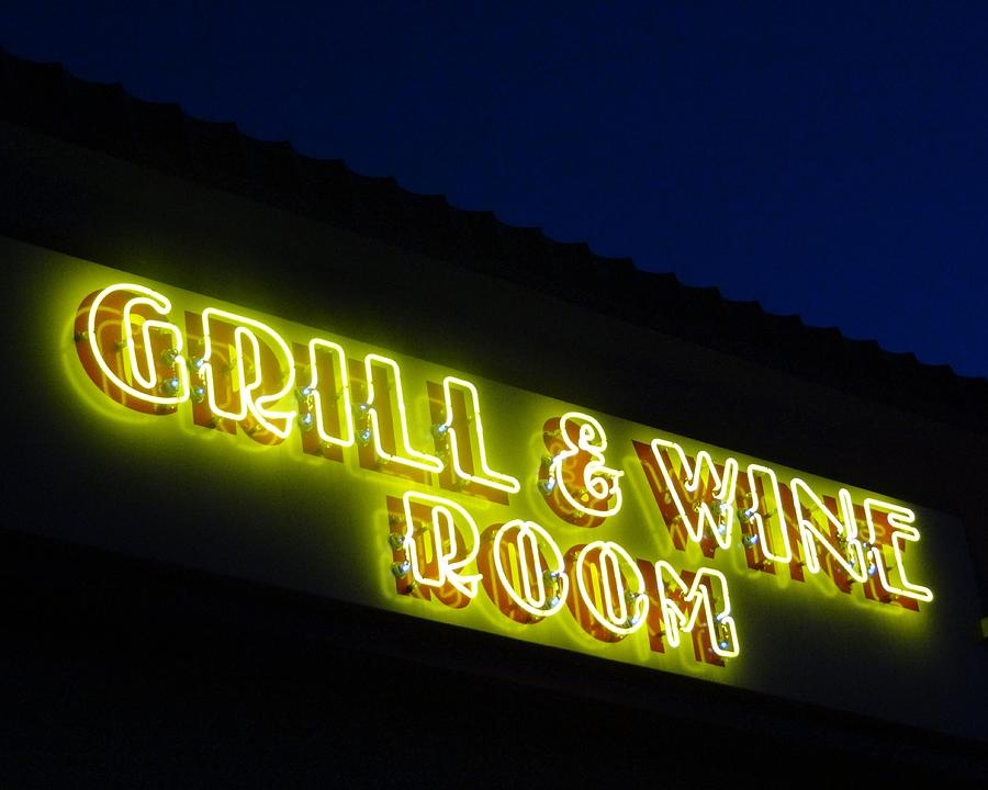 Grill And Wine Photograph  - Grill And Wine Fine Art Print