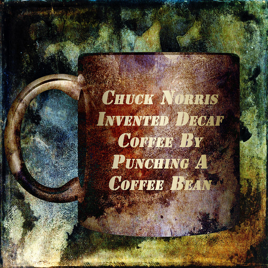 Gritty Chuck Norris 2 Mixed Media