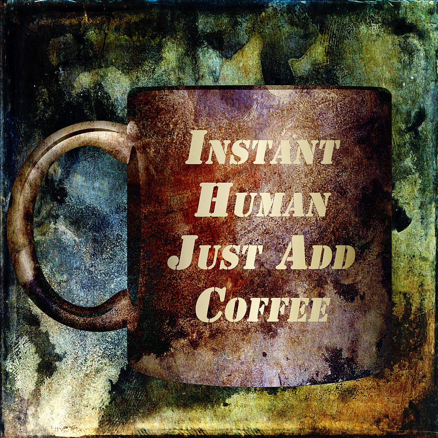 Gritty Instant Human Mixed Media