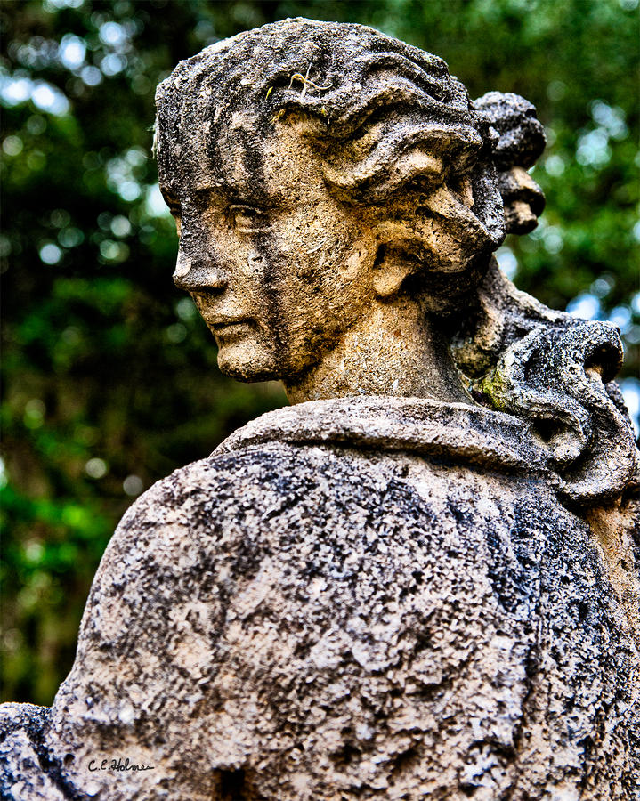 Statue Photograph - Gritty Profile by Christopher Holmes