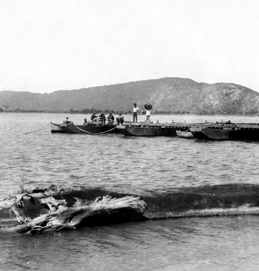 puerto Rico  Photograph - Guanica Harbor - San Juan - Puerto Rico - C 1899 by International  Images