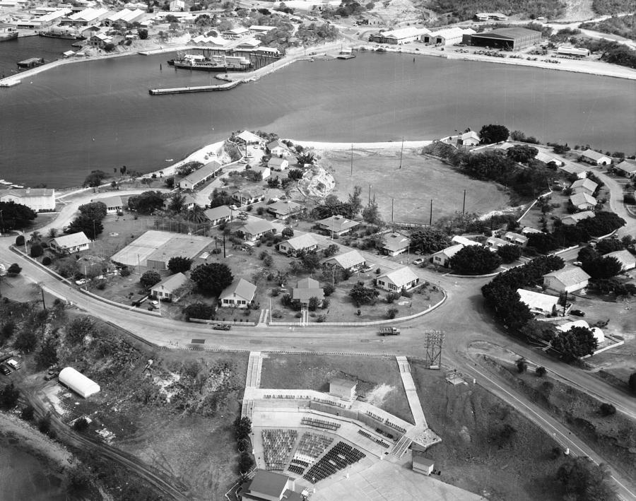 1960 Photograph - Guantanamo Bay Naval Base by Granger