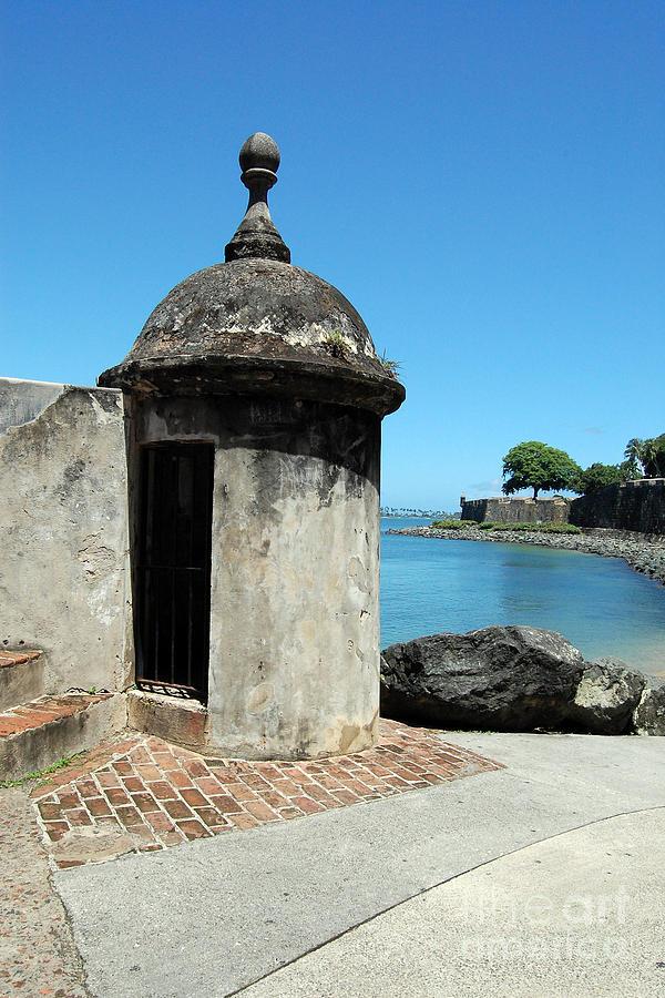 El Morro Photograph - Guard Post Castillo San Felipe Del Morro San Juan Puerto Rico by Shawn OBrien