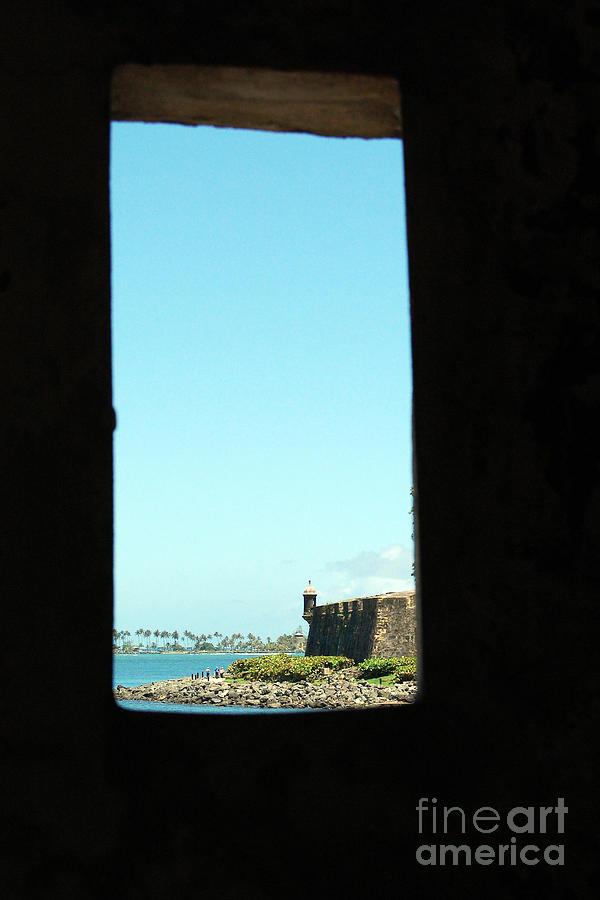 Guard Tower View Castillo San Felipe Del Morro San Juan Puerto Rico Photograph by Shawn OBrien