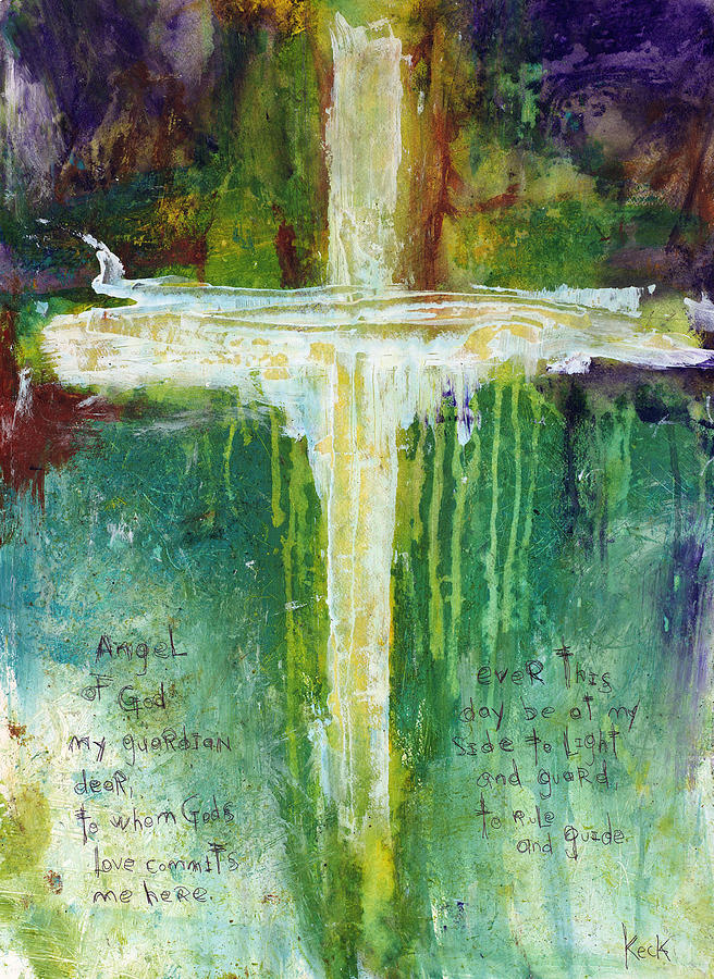 Guardian Angel Prayer Painting