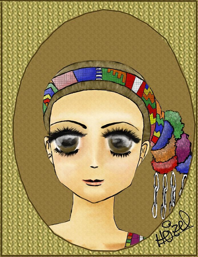 Guatemalan Costume Santo Tomas La Union Drawing