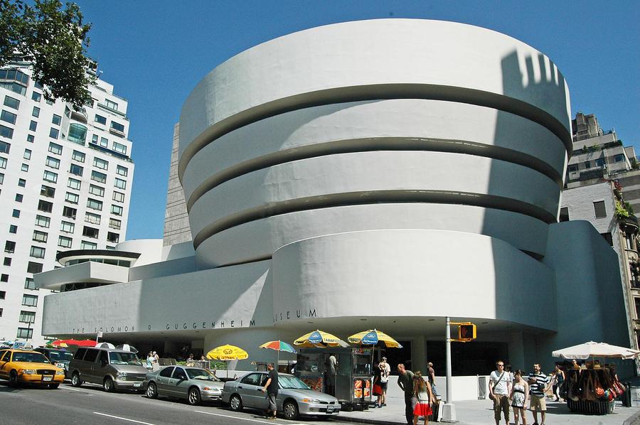 Guggenheim Museum Nyc by Allan Einhorn