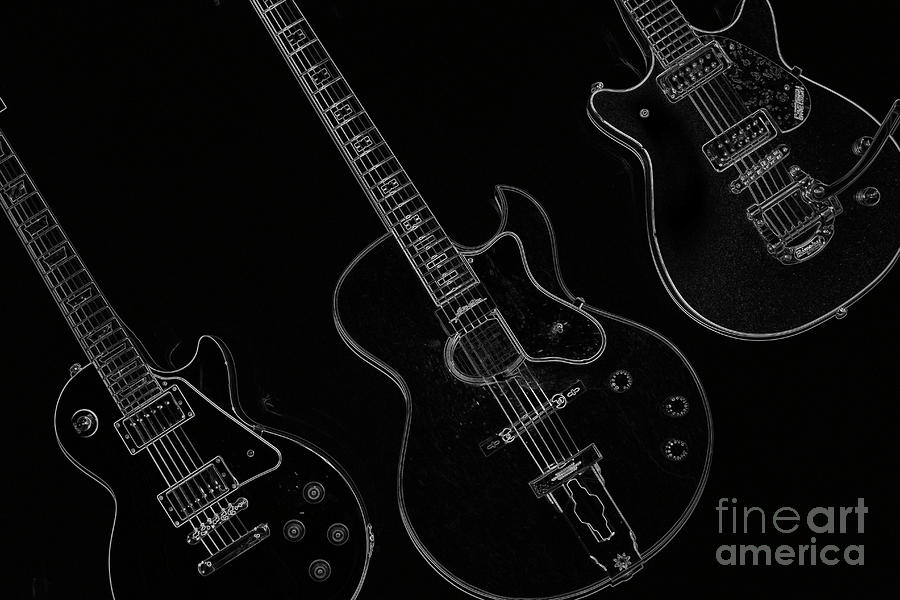 Guitar Trio Photograph  - Guitar Trio Fine Art Print