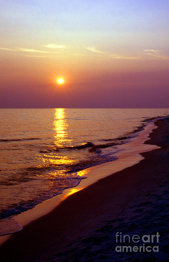 Gulf Of Mexico Sunset Photograph