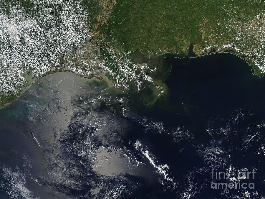 Gulf Oil Spill, April 2010 Photograph
