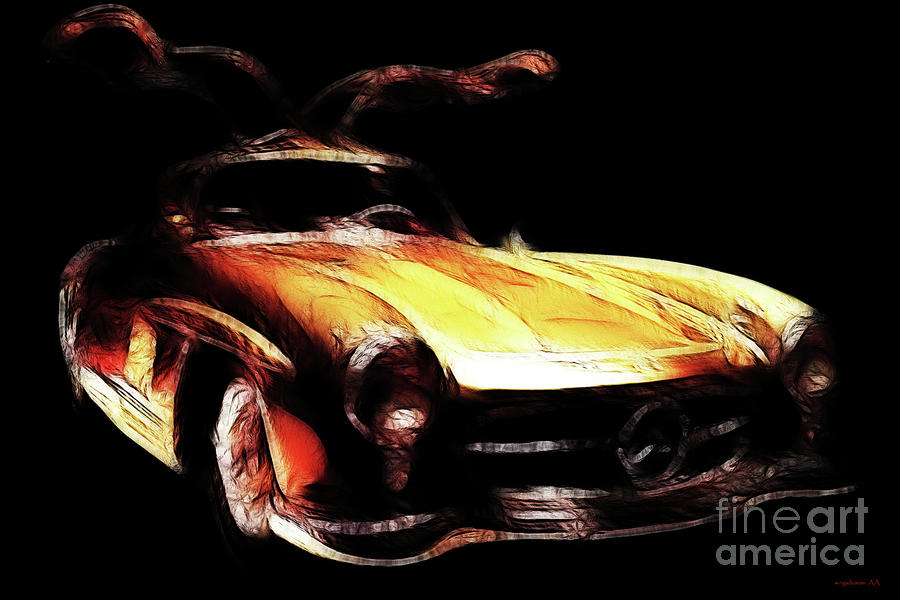 Gullwing Photograph  - Gullwing Fine Art Print