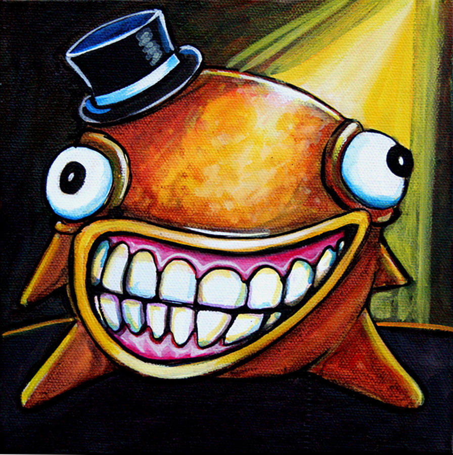 Gummy Stage Glob Painting  - Gummy Stage Glob Fine Art Print
