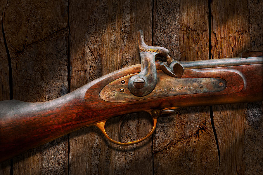 Gun - Musket - London Armory  Photograph  - Gun - Musket - London Armory  Fine Art Print