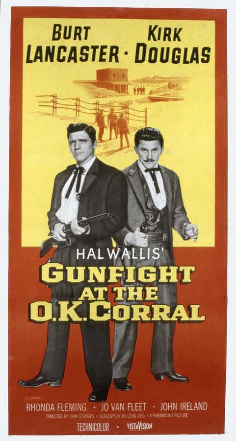 Gunfight At The O.k. Corral, Burt Photograph  - Gunfight At The O.k. Corral, Burt Fine Art Print