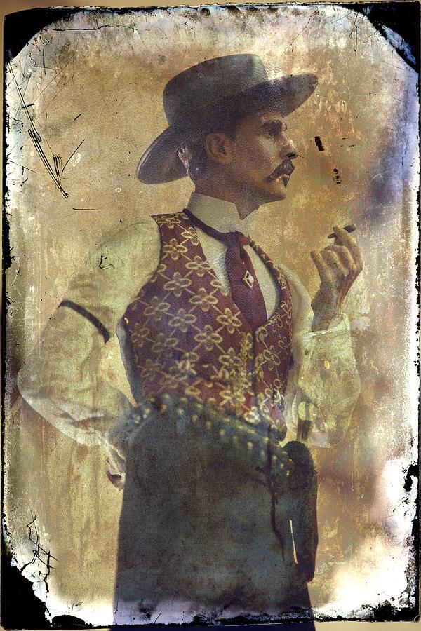 Gunslinger IIi Doc Holliday In Fine Attire Photograph