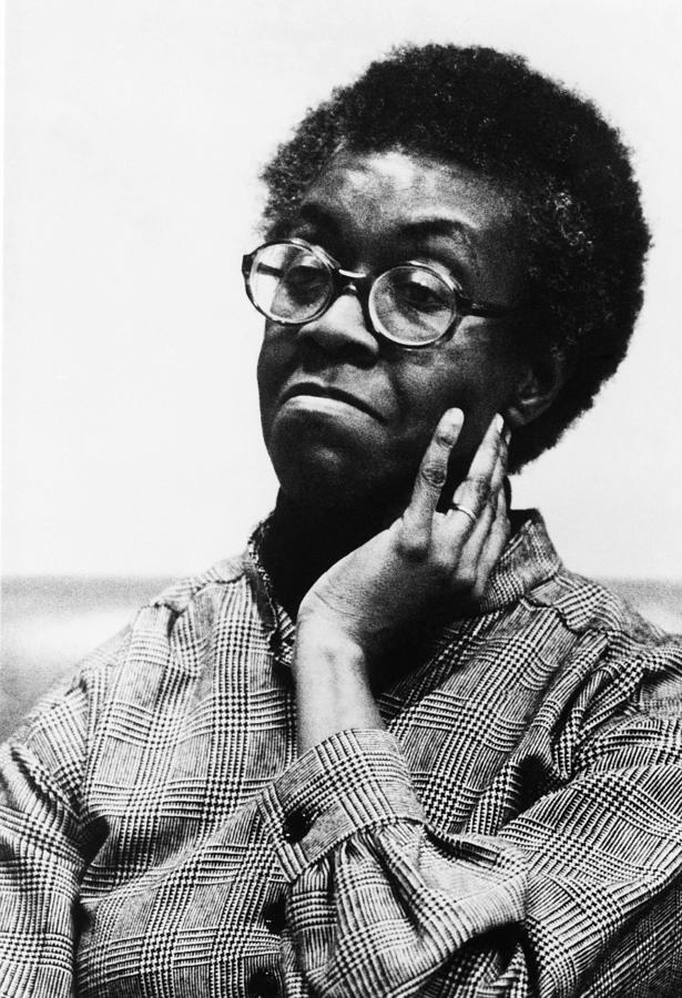 Gwendolyn Brooks 1917-2000, American Photograph  - Gwendolyn Brooks 1917-2000, American Fine Art Print