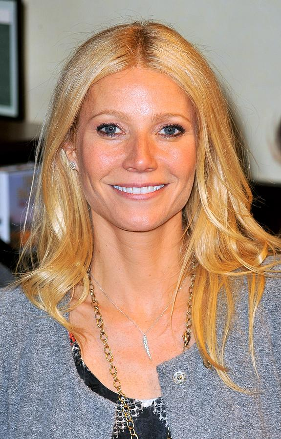 Gwyneth Paltrow At In-store Appearance Photograph