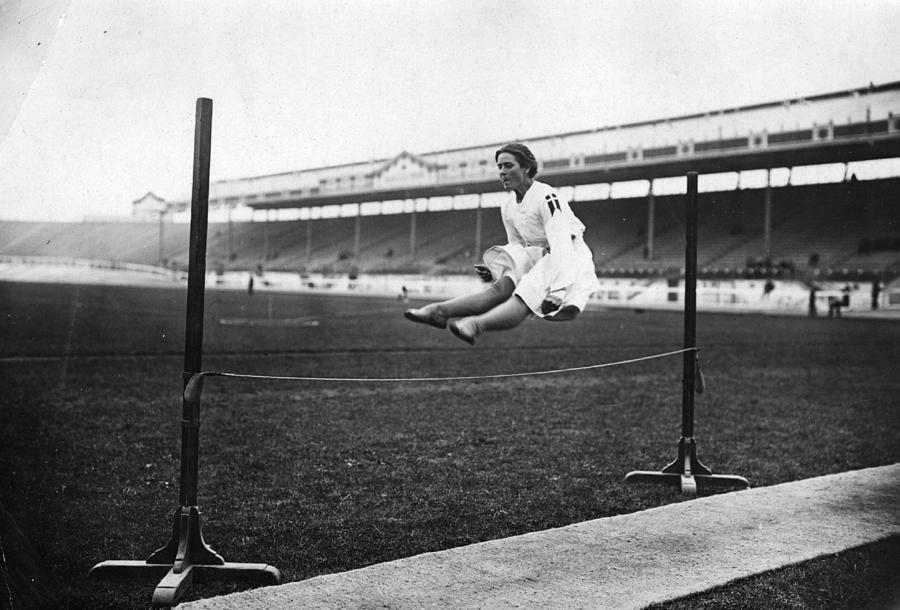 Gymnastic Jump Photograph