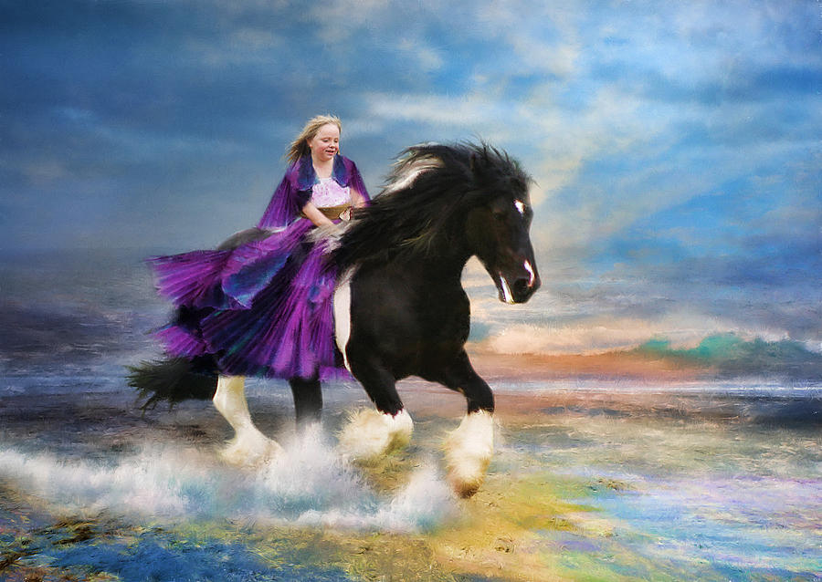 Gypsy Spirit Photograph  - Gypsy Spirit Fine Art Print