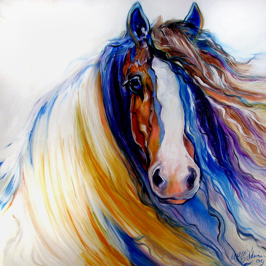 Gypsy Vanner Rogue Painting