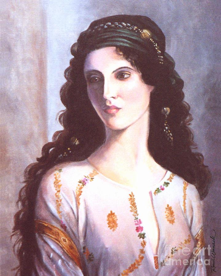 Gypsy Woman Painting Gypsy Woman Paintings - Gypsy