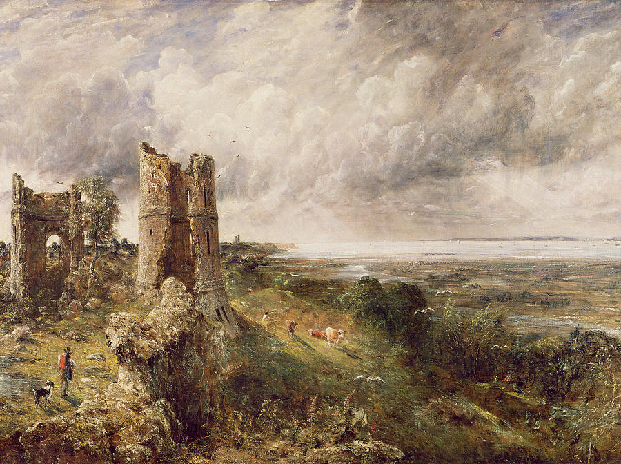 Hadleigh Castle Painting