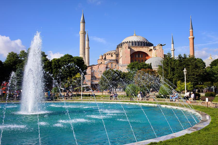 Hagia Sofia In Istanbul Photograph