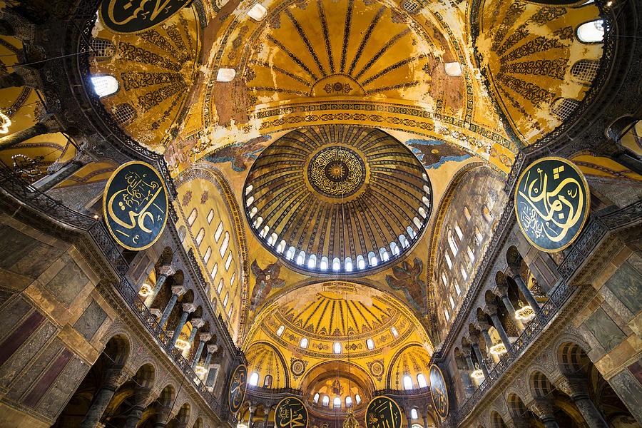 Hagia Sophia Byzantine Architecture Photograph