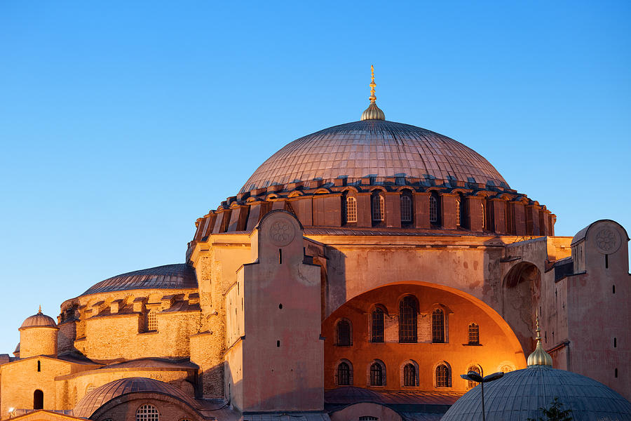 Hagia Sophia In Istanbul Photograph