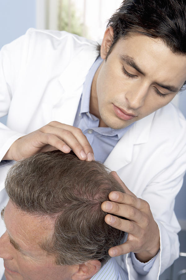 Hair Transplant Consultation Photograph