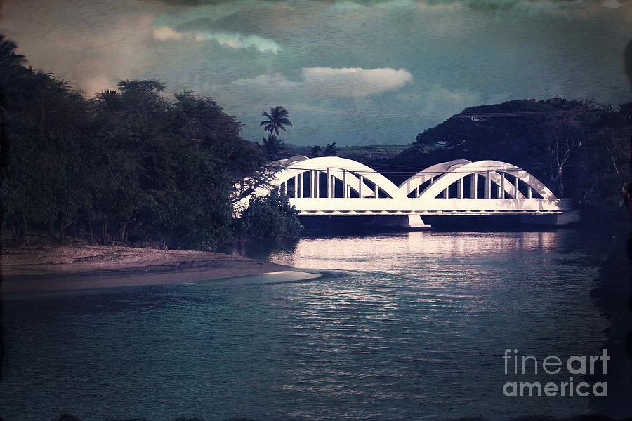 Haleiwa Bridge Photograph  - Haleiwa Bridge Fine Art Print