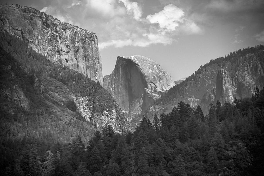 Half Dome From Afar Photograph  - Half Dome From Afar Fine Art Print